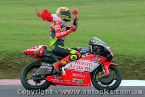 98306 - Valentino Rossi - 250cc Aprilia - Phillip Island 1998
