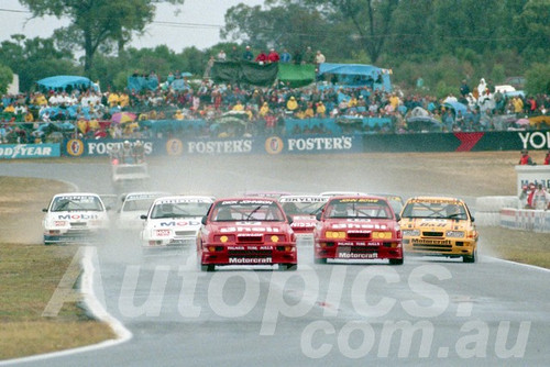 89070 - Start of the ATCC Round 4 - Wanneroo April 1989 - Photographer Tony Burton
