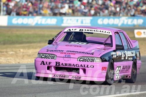 90034 - Alf Barbagallo Holden VL Commodore - Wanneroo  24th June 1990 - Photographer Tony Burton