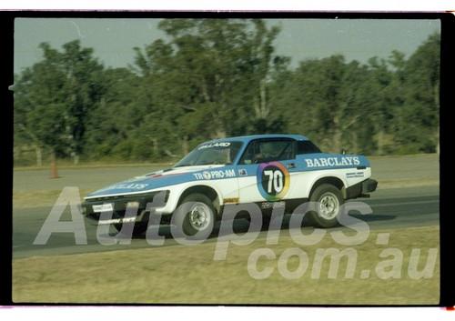 81-OPC3581-012  Ron Gillard, Triumph TR7