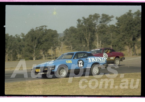 81-OPC3581-016  Terry Daly Triumph TR7