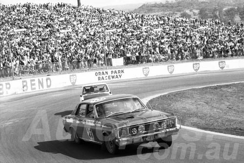 71549 - Keith Goodall, Falcon XW GTHO Dulux Rally Oran Park 1971 - Photographer Lance Ruting