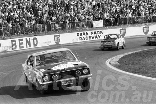 71552 - Lionel Williams, Monaro GTS 350 - Dulux Rally Oran Park 1971 - Photographer Lance Ruting