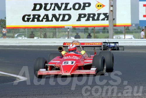 84542 - Bruce Connolly -  Ralt  RT4 - AGP Calder 1984 - Photographer Peter D'Abbs