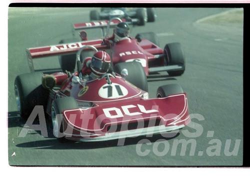 Jim Smith, Ralt RT1 & Andrew Miedecke, Ralt RT4 - Oran Park  23rd August 1981 - Photographer Lance Ruting