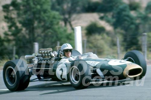 67130 - Denny Hulme, Brabham BT19  Repco - Tasman Series Longford 1967