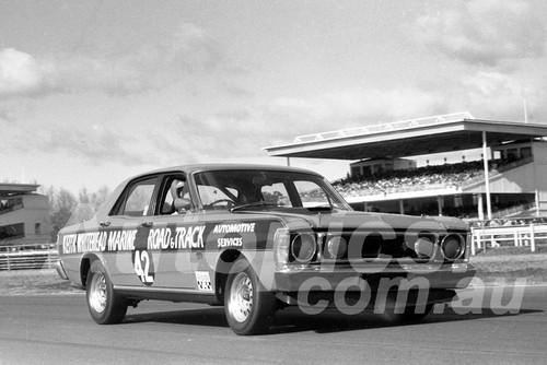 700034 - Max Douglas, Falcon XW GTHO - Warwick Farm 12th July 1970 - Photographer Lance J Ruting