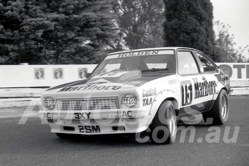 78177 - John Harvey, Torana A9X - Hang Ten 400 Sandown 1978 - Photographer Peter D'Abbs