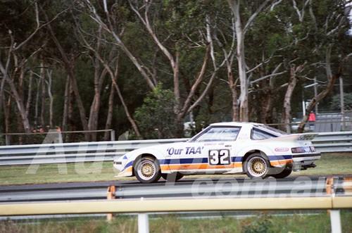 83112 - Johnnie Walker, Mazda RX7 - Sandown 400 1983 - Photographer Keith Midgley
