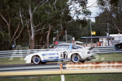 83113 - Terry Shiel, Mazda RX7  - Sandown 400 1983 - Photographer Keith Midgley
