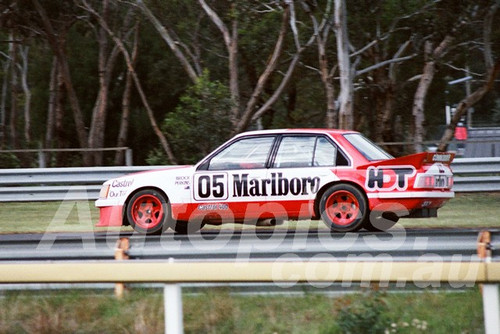 83114 - Peter Brock, Commodore VH - Sandown 400 1983 - Photographer Keith Midgley