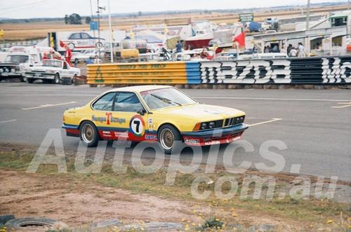 86113 - Charlie O'Brien, BMW 635 CSi - Symmons Plains, 9th March 1986 - Photographer Keith Midgley