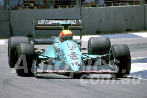 88142 - Mauricio Gugelmin, March-Judd,  AGP Adelaide, 5th November 1988 - Photographer Darren House