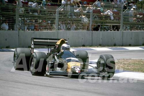 88150 - Jonathan Palmer, Tyrrell-Ford,  AGP Adelaide, 5th November 1988 - Photographer Darren House