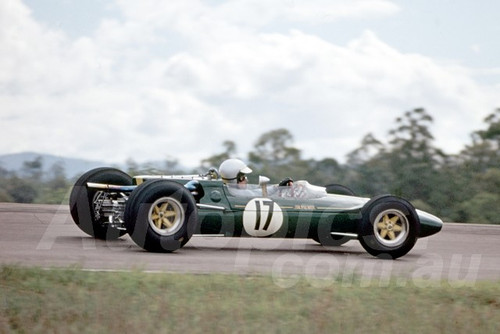 66311 - Jim Palmer, Lotus 32B Climax - Lakeside Tasman Series 1966