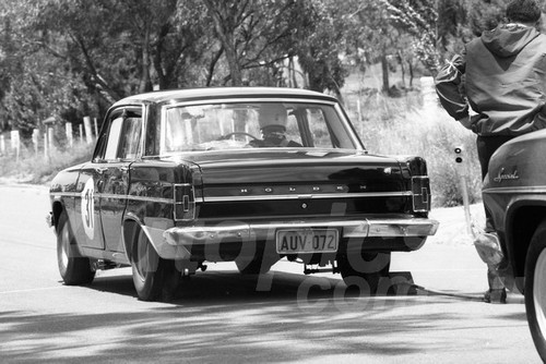 67318 - Brian Mayman EH Holden 179 - Australian Hill Climb Championships Bathurst 26th November 1967 - Photographer Lance J Ruting