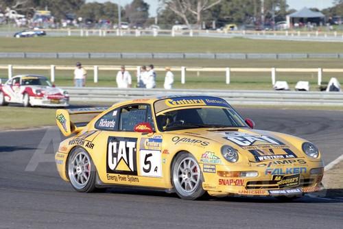 99016 - Jim Richards, Porsche 911 RSCS - Sandown 27th June 1999 - Photographer Marshall Cass