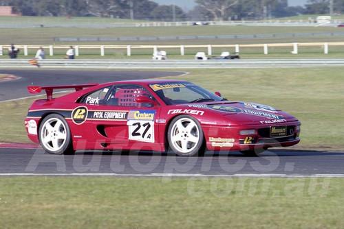 99019 - Wayne Park, Ferrari F355 - Sandown 27th June 1999 - Photographer Marshall Cass