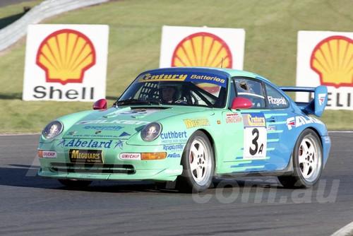 99021 - Peter Fitzgerald, Porsche 911 RSCS - Sandown 27th June 1999 - Photographer Marshall Cass