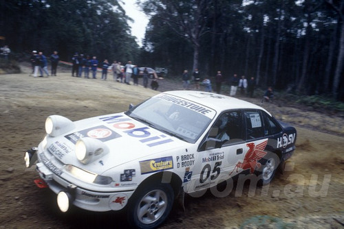 95061 - Peter Brock & Dave Boddy, Holden VR Commodore - Mobil Tril 1995
