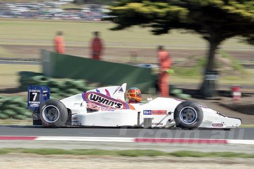 202765 - Nelson Harltey, Reynard - Formula Holden - Phillip Island 2002 - Photographer Marshall Cass