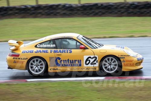202788 - Matthew Coleman, Porsche GT3 - Phillip Island 2002 - Photographer Marshall Cass