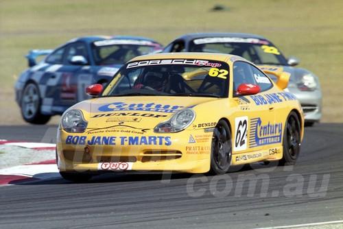 202789 - Matthew Coleman, Porsche GT3 - Phillip Island 2002 - Photographer Marshall Cass