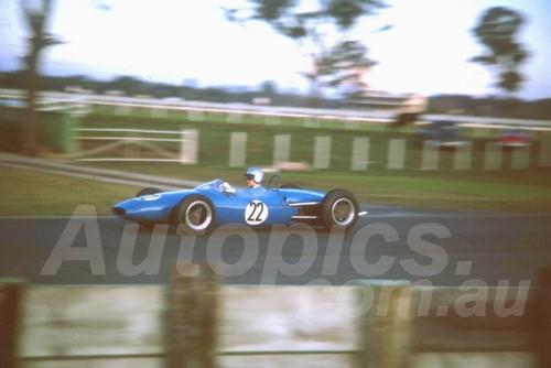 63749 -  David Walker Brabham - Warwick Farm 1963 - Photographer Derek Hinde