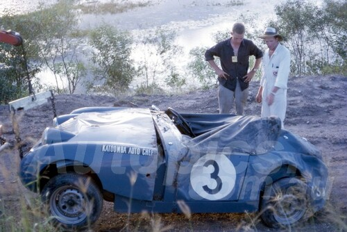 64160 - Austin Healey Sprite - Lakeside 1964 - Photographer John Stanley
