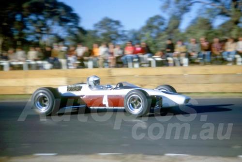 68264 - Niel Allen McLaren Cosworth - Warwick Farm 18th February 1968 - Photographer Lance Ruting