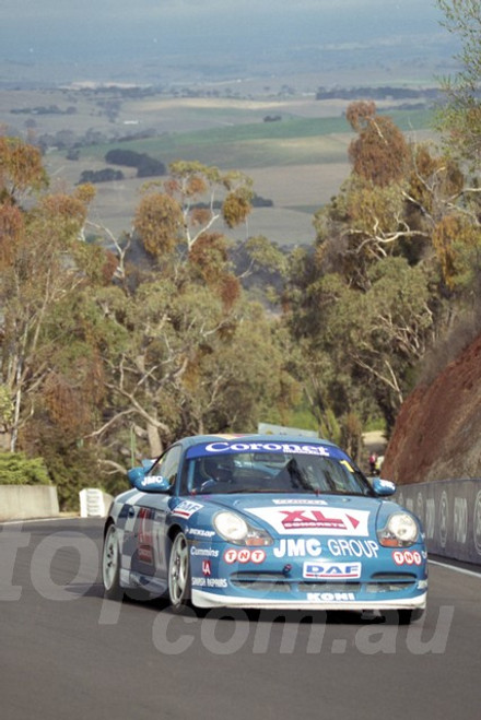 202795 - Martin Wagg - Porsche 996 GT3   - Bathurst 13th October 2002 - Photographer Marshall Cass