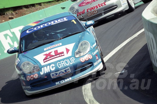 202796 - Martin Wagg - Porsche 996 GT3   - Bathurst 13th October 2002 - Photographer Marshall Cass