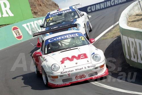 202797 - Paul Whitmarsh - Porsche  GT2   - Bathurst 13th October 2002 - Photographer Marshall Cass