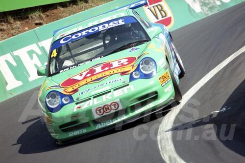 202801 - Peter Fitzgerald - Porsche 996 GT3 - Bathurst 13th October 2002 - Photographer Marshall Cass
