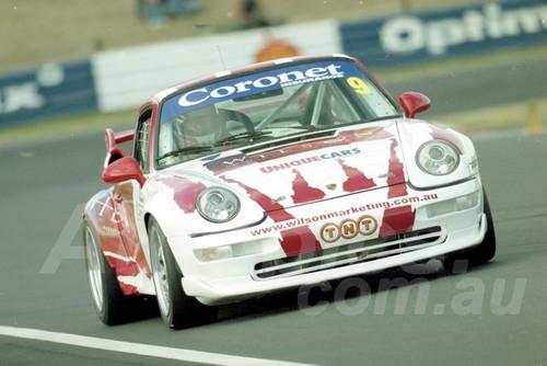 202806 - Richard Wilson - Porsche GT2 - Bathurst 13th October 2002 - Photographer Marshall Cass