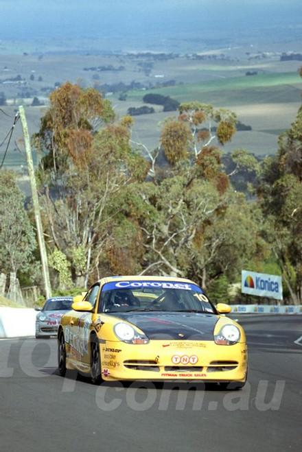 202808 - Dean Grant - Porsche 996 GT3 - Bathurst 13th October 2002 - Photographer Marshall Cass