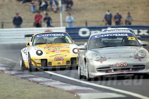 202817 - Jonathon Webb - Porsche 996 GT3 - Bathurst 13th October 2002 - Photographer Marshall Cass
