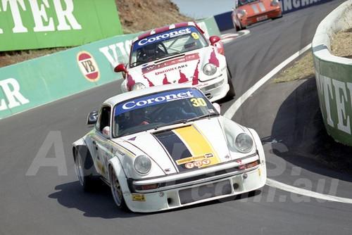 202823 - Duncan MacKellar - Porsche 934  - Bathurst 13th October 2002 - Photographer Marshall Cass