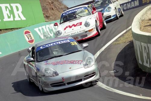 202829 - James Koundouris - Porsche 996 GT3  - Bathurst 13th October 2002 - Photographer Marshall Cass