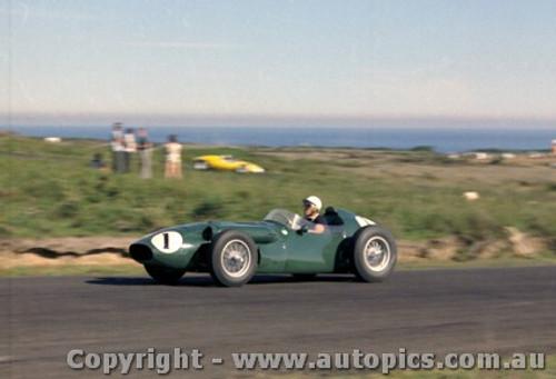 60508 - Lex Davison  Aston Martin - Phillip Island 23rd October 1960