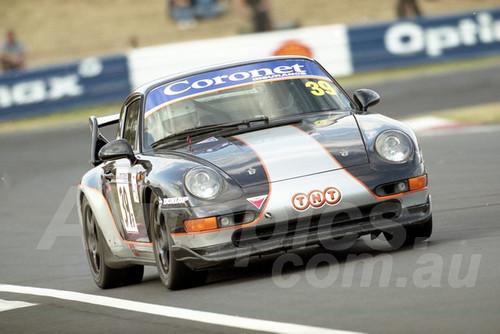 202834 - Bryan Taylor - Porsche 993 RS - Bathurst 13th October 2002 - Photographer Marshall Cass