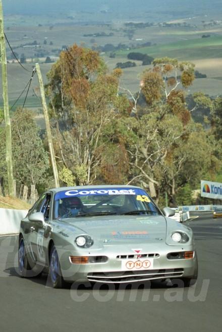 202837 - Richard Sawkins - Porsche 968 CS - Bathurst 13th October 2002 - Photographer Marshall Cass