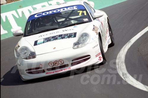 202860 -  Chris Seidler - Porsche 996 GT3 - Bathurst 13th October 2002 - Photographer Marshall Cass