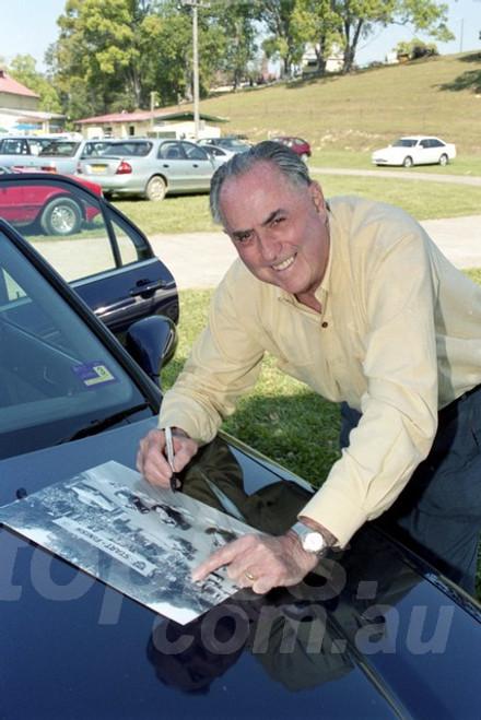 202873 -  Jack Brabham, Speed on Tweed  2002  - Photographer David Blanch