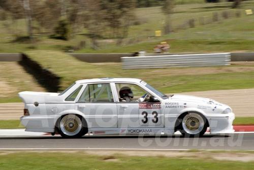 88828 - GARRY ROGERS / JOHN ANDRETTl , Commodore VL - Bathurst 1000, 1988 - Photographer Lance J Ruting