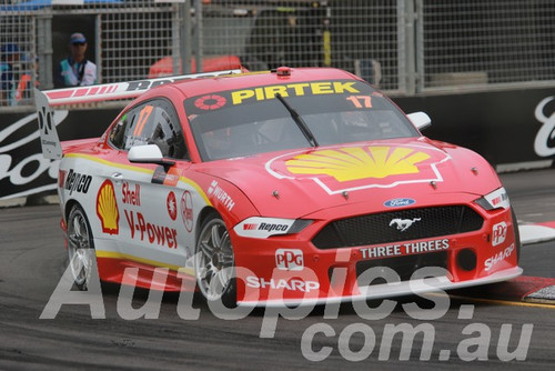 19066 - Scott McLaughlin, Ford Mustang GT - Newcastle 2019