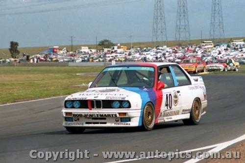 87011  - M. Oestreich - BMW M3 - Calder 1987.