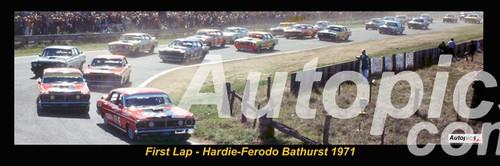First Lap, Hardie-Ferodo, Bathurst 1971
