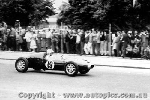 58536 - J. Roxburgh  Cooper F2 - Albert Park 1958