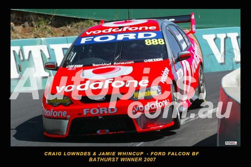 200700-1 - Craig Lowndes & Jamie Windcup - Ford Falcon BF - Bathurst Winner, 2007